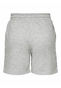 ONLY - Tracksuit bottoms - light grey melange - 5