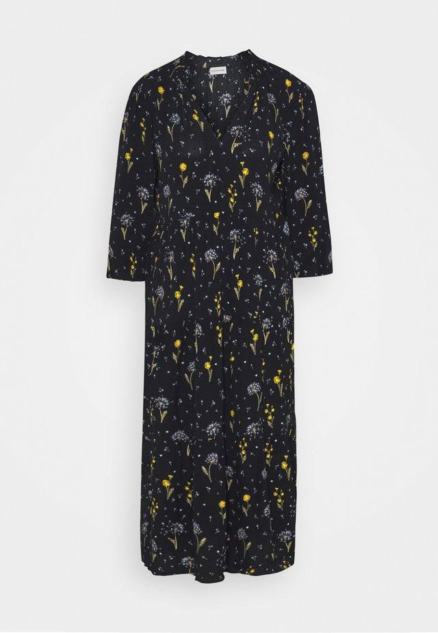 CARAMEX - Denní šaty - black