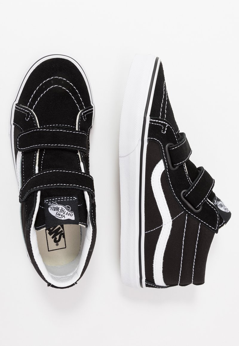 Vans - SK8 MID - Vysoké tenisky - black/true white