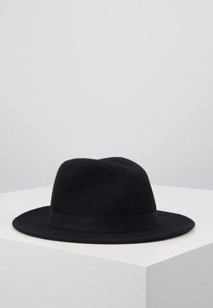 MELTON FEDORA - Hat - black