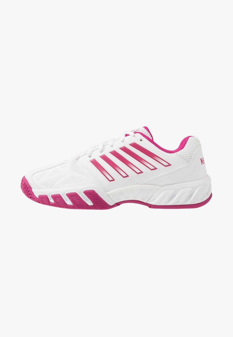 K-SWISS - BIGSHOT LIGHT 3 - Multicourt tennis shoes - white/cactus flower
