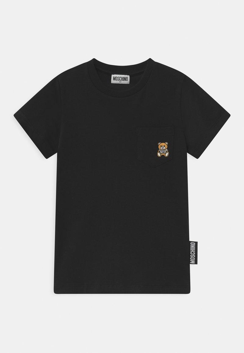 MOSCHINO - UNISEX - Print T-shirt - black