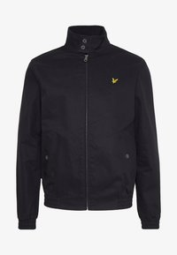 Lyle & Scott - HARRINGTON JACKET - Tunn jacka - jet black - 4