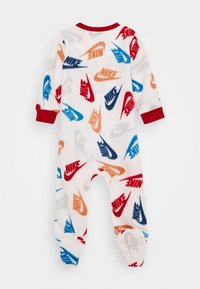 Nike Sportswear - FOOTED COVERALL - Pijama - white - 1