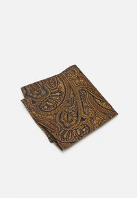 Burton Menswear London - PAISLEY BOWTIE AND HANKIE SET - Rusetti - brown - 3