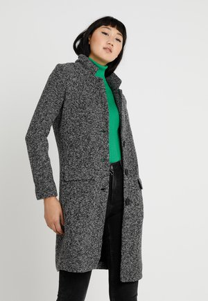 JDYBESTY  FALL - Classic coat - dark grey melange