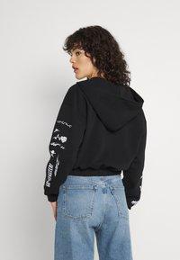 NEW girl ORDER - SPEED DEMON ZIP UP HOODIE - Zip-up sweatshirt - black - 2