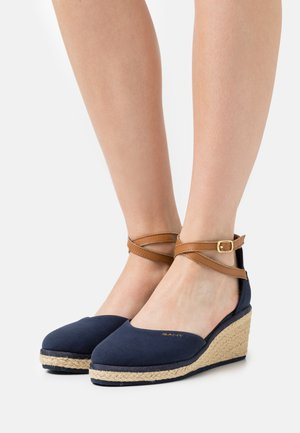WEDGEVILLE  - Platform heels - marine