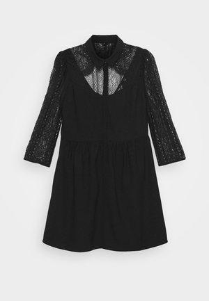 VIVIEN - Robe chemise - noir