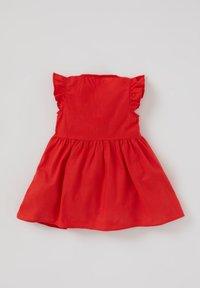 DeFacto - Shirt dress - red - 1