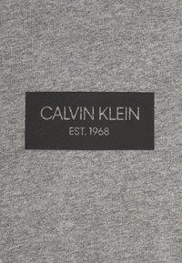 Calvin Klein - CHEST BOX LOGO - Print T-shirt - grey - 2