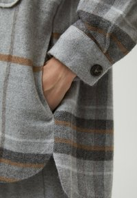 PULL&BEAR - Košile - mottled grey - 4