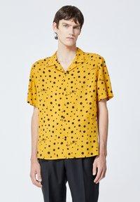 The Kooples - Shirt - yellow black - 0