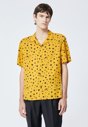 Shirt - yellow black