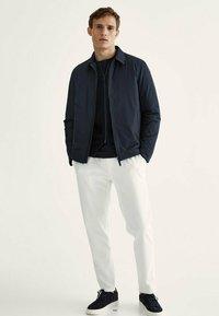 Massimo Dutti - Summer jacket - dark blue - 1