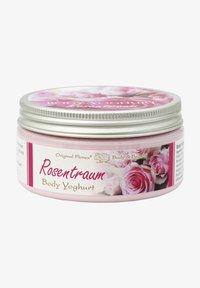 Florex - LEICHTER VITAMIN BODY YOGHURT ROSENTRAUM 200ML - Hand cream - weiß - 0