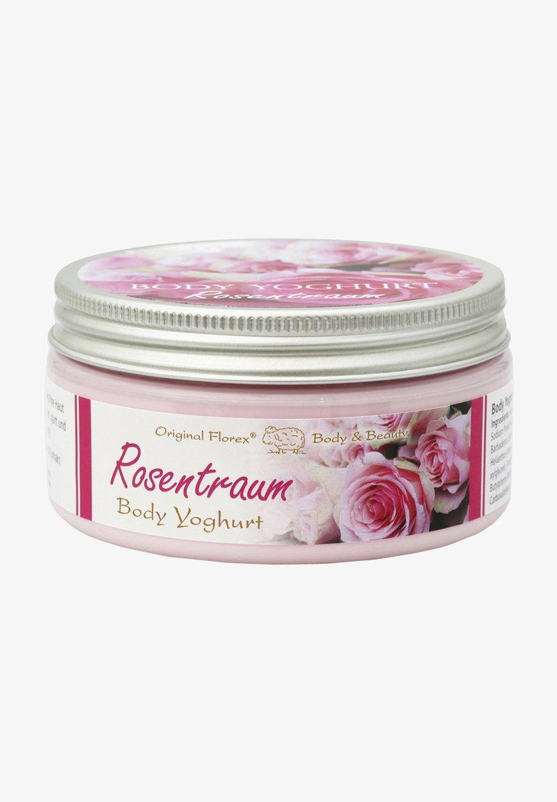 Florex - LEICHTER VITAMIN BODY YOGHURT ROSENTRAUM 200ML - Hand cream - weiß