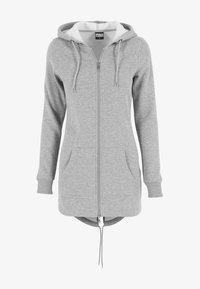 Urban Classics - Zip-up hoodie - grey - 0