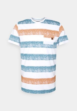 HERNANDEZ - T-shirt z nadrukiem - toffee