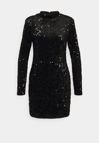 Gina Tricot - INA SEQUINS DRESS - Cocktail dress / Party dress - black - 0