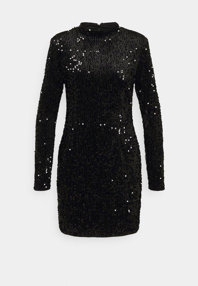INA SEQUINS DRESS - Cocktail dress / Party dress - black