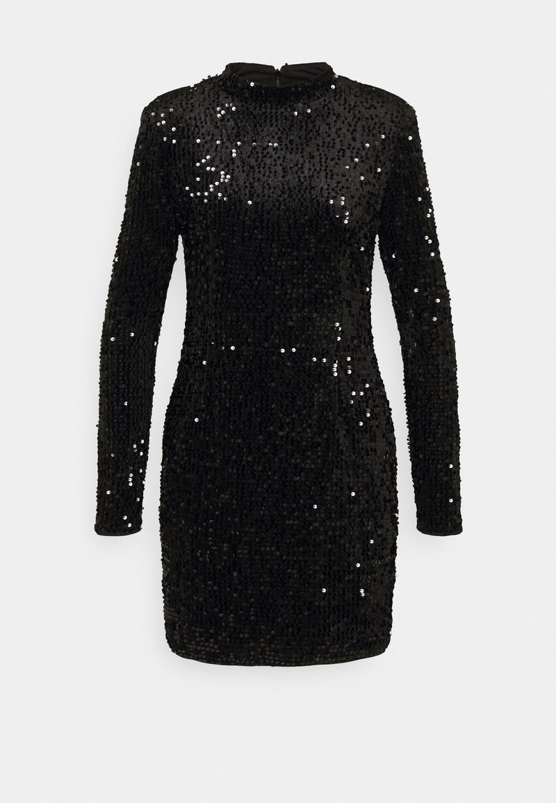 Gina Tricot - INA SEQUINS DRESS - Cocktail dress / Party dress - black