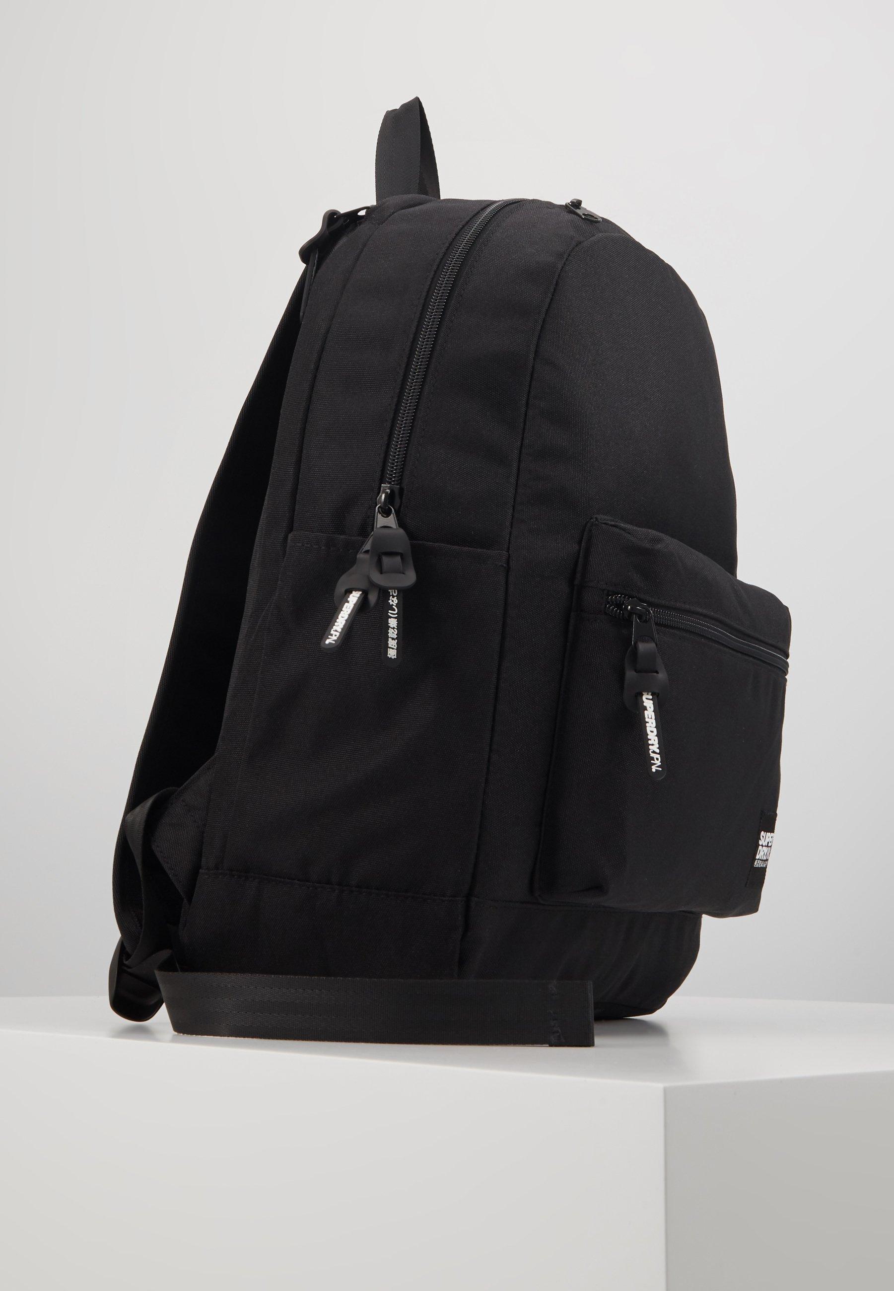 Superdry CITY PACK - Ryggsekk - black/svart a4b1lH2l9o9ySpj