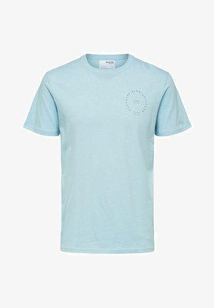 Print T-shirt - dream blue