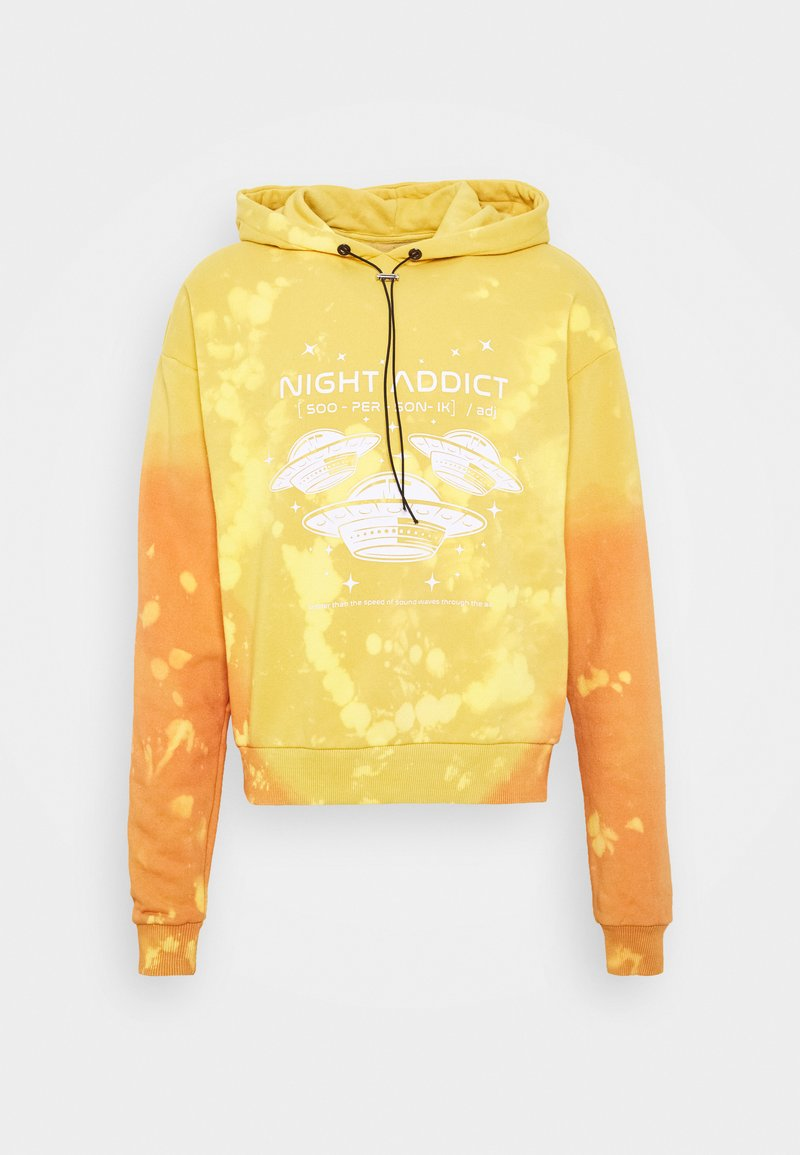 Night Addict - UNISEX  - Collegepaita - yellow