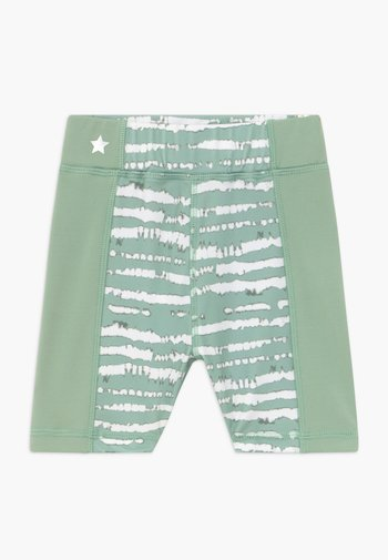 GIRLS PRINTED SHORTS - Collant - sage green