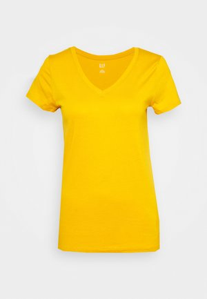 T-shirt basic - rugby gold