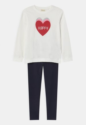SET - Sweatshirt - snow white