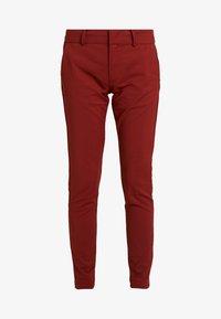 BABASAN PANTS - Trousers - metalic red