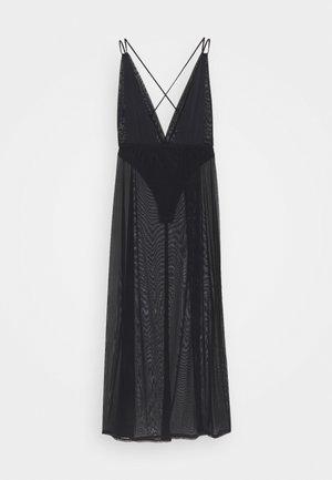PALOMA LONG CHEMISE - Noční košile - black