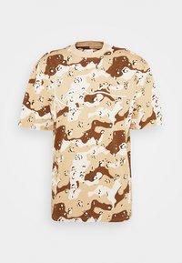 Karl Kani - T-shirt med print - sand - 5