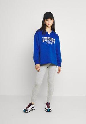 HIGH WAISTED LEGGINGS 2 PACK  - Leggings - Trousers - black/mottled light grey
