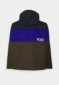 Polo Ralph Lauren Big & Tall - PORTLAND  - Lehká bunda - olive, dark blue - 1
