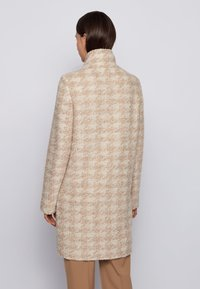 BOSS - Classic coat - patterned - 2