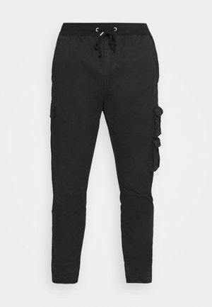 PANTS - Cargo trousers - blackboard