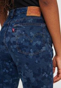 Levi's® - 501® CROP - Jeansy Straight Leg - blue denim - 6