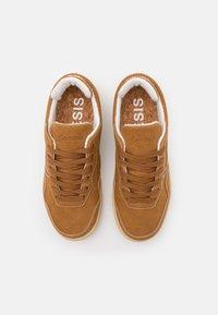 Genesis - G-SOLEY CORNWAIST - Sneakers basse - dark wheat - 3