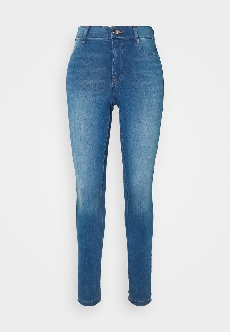 Dorothy Perkins Tall - TALL FRANKIE - Jeans Skinny Fit - mid wash denim