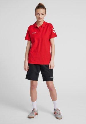 Polo shirt - true red