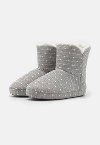 Anna Field - Slippers - light grey/white - 2