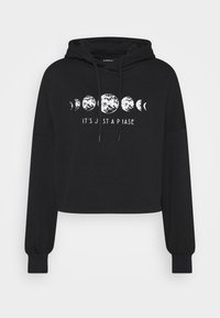 Even&Odd - Printed Oversized Sweatshirt - Sudadera - black - 5