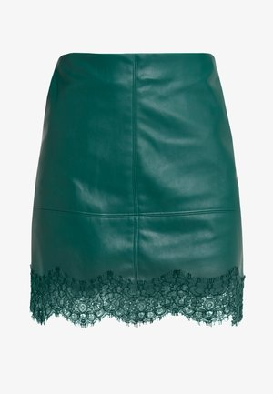 Mini skirt - dark green