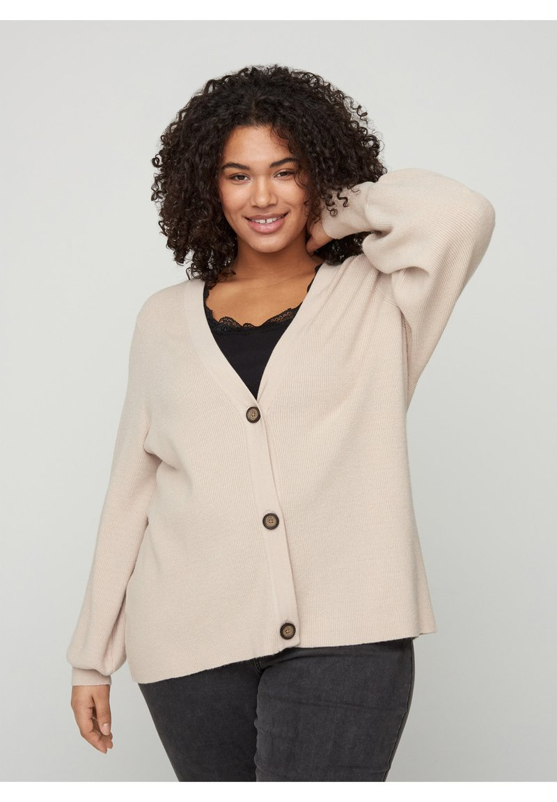 Zizzi - Cardigan - brown