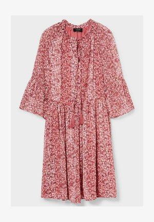 Day dress - pink / red
