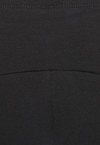 ONLY - OLMLOVELY 2 PACK - Shorts - black/light grey - 4