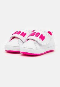 MSGM - První boty - white/pink - 1